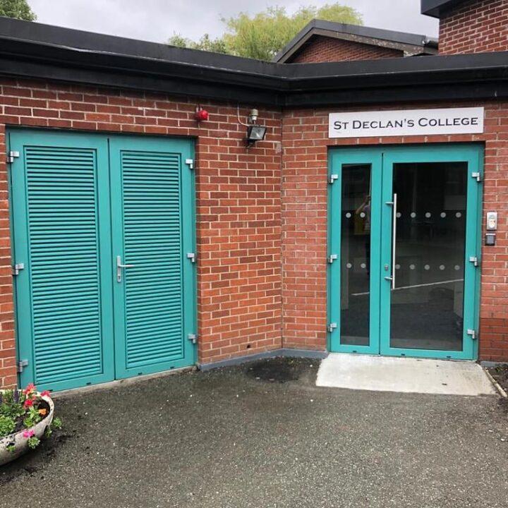 Commercial windows & doors, St. Declan's College