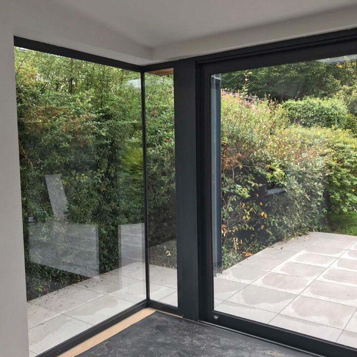 Glass to Glass Corner Windows Roscommon & Dublin